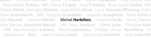 Michel Herbillon