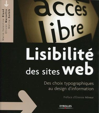 Lisibilité des sites web, des choix typographiques au design d'information