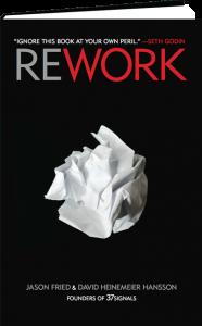 Couverture du livre Rework par 37Signals