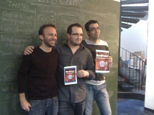 Xavier Borderie, Amaury Balmer et Francis Chouquet