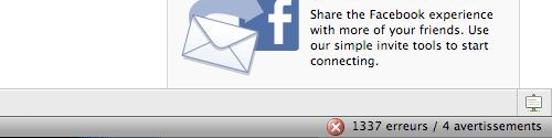 Facebook, c'est trop geek